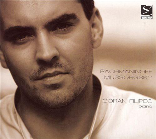 Goran Filipec plays Rachmaninoff, Mussorgsky