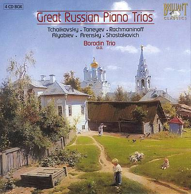 Great Russian Piano Trios [Box Set]