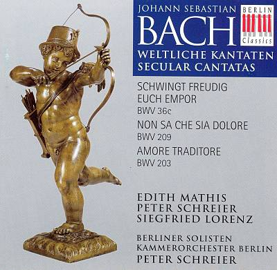 Bach: Secular Cantatas BWV 36c, BWV 209, BWV 203