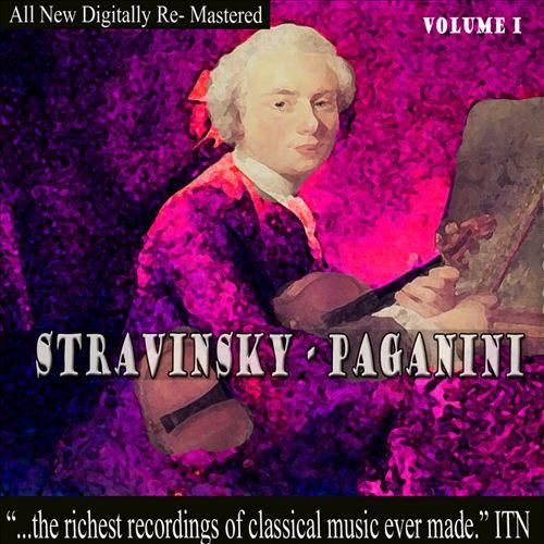 Stravinsky, Pagnini, Vol. 1