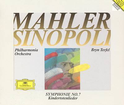 Mahler: Symphony No. 7; Songs on the Death of Children [2 CDs]