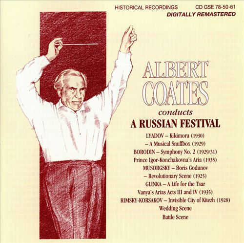 Albert Coates Conducts a Russian Festival