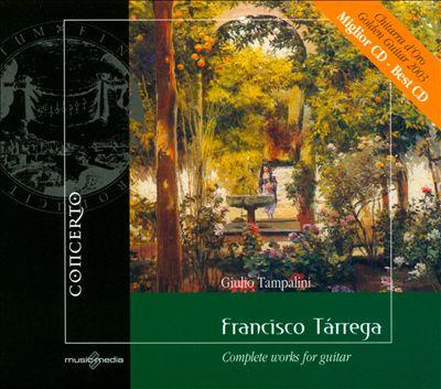 Francisco Tárrega: Complete works for Guitar