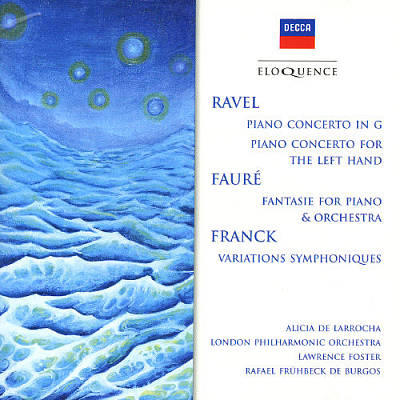 Ravel, Fauré, Franck: Music for Piano & Orchestra [Australia]