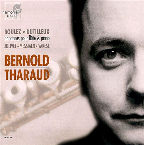 Boulez & Dutilleux: Sonatines for flute and piano