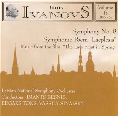 Janis Ivanovs: Orchestral Works, Vol. 6