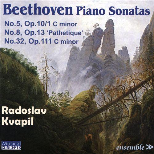 Beethoven: Piano Sonatas No. 5 Op.10/1, No.8 Op. 13 'Pathétique', No. 32 Op. 111