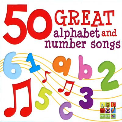 50 Great Alphabet & Number Songs