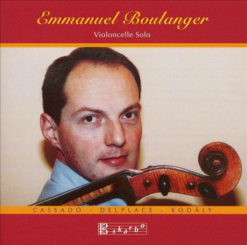 Emmanuel Boulanger plays Cassadò, Delplace & Kodály