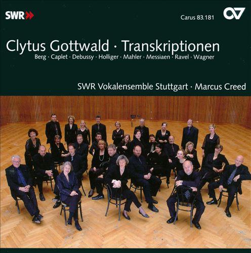 Clytus Gottwald: Transkriptionen