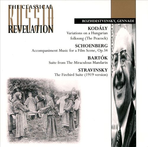 Stravinsky: L'oiseau de feu No2; Bartok: Miraculous Mandarin, pantomime Op19