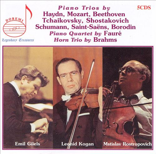 Piano Trios by Haydn, Mozart, Beethoven and Others
