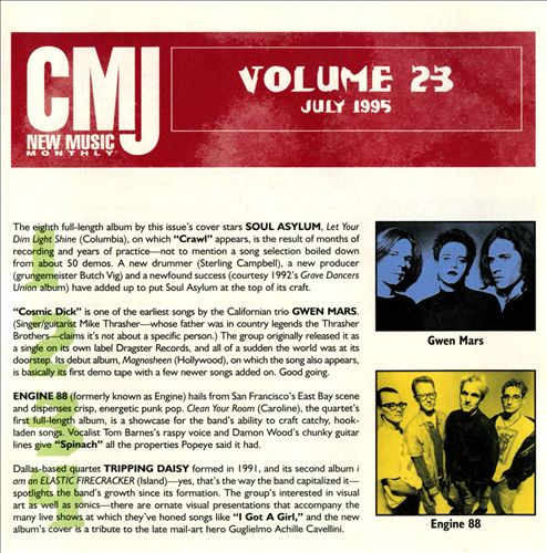 CMJ New Music, Vol. 23