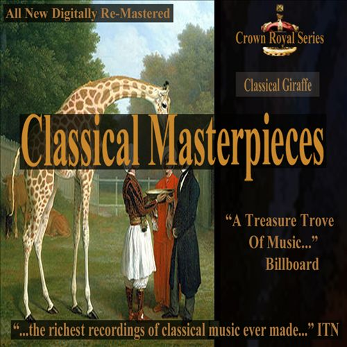Classical Masterpieces: Classical Giraffe