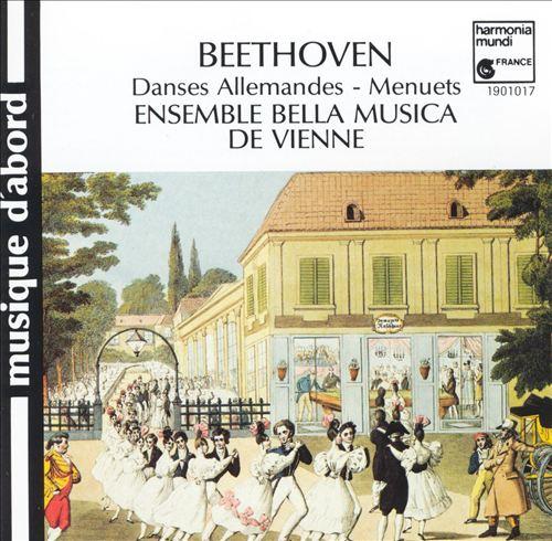 Beethoven: Danses Allemandes; Menuets
