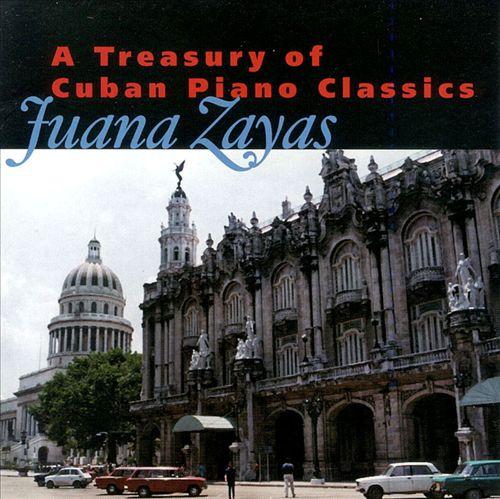 A Treasury of Cuban Piano Classics