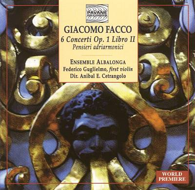 Facco: 6 Concerti, op. 1, Libro 2