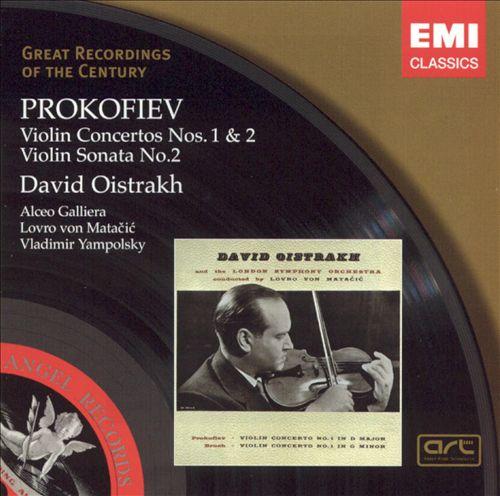 Prokofiev: Violin Concertos Nos. 1 & 2; Violin Sonata No. 2