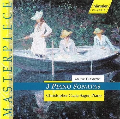 Muzio Clementi: 3 Piano Sonatas