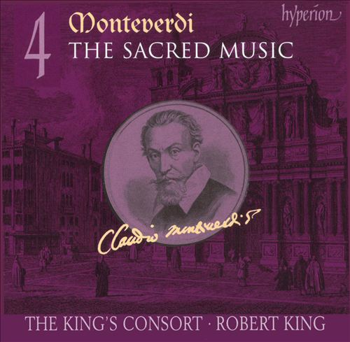Monteverdi: The Sacred Music, Vol. 4
