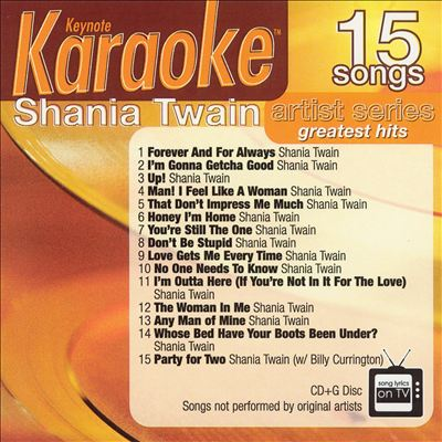Keynote Karaoke: Shania Twain Greatest Hits