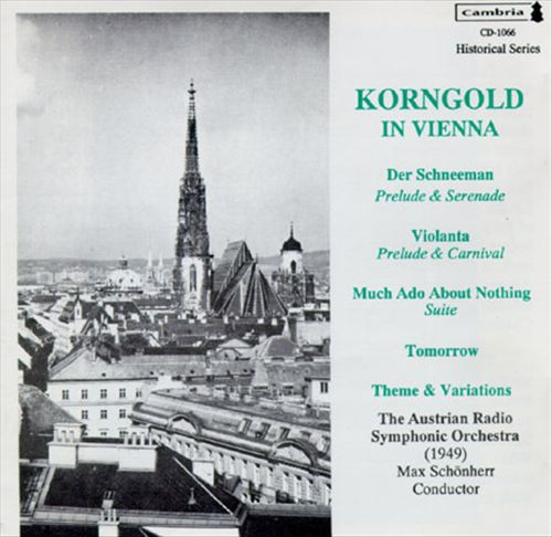 Korngold in Vienna