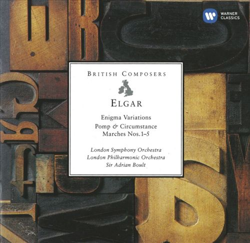 Elgar: Enigma Variations; Pomp & Circumstance Marches Nos.1-5