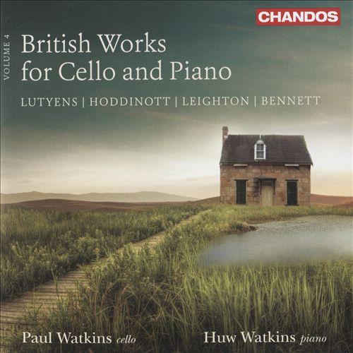 British Works for Cello and Piano, Vol. 4