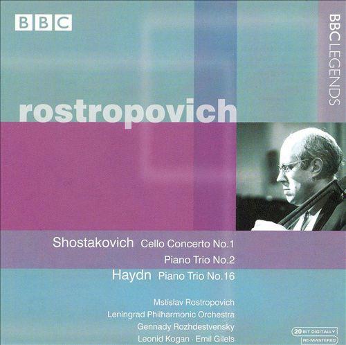 Shostakovich: Cello Concerto No. 1; Piano Trio No. 2; Haydn: Piano Trio No. 16