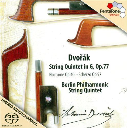 Dvorák: String Quintet in G, Op. 77