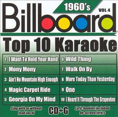 Billboard Top 10 Karaoke: 1960's, Vol. 4
