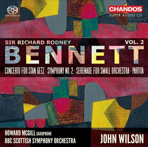 Sir Richard Rodney Bennett: Orchestral Works, Vol. 2