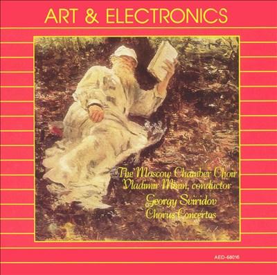 Georgy Sviridov: Chorus Concertos