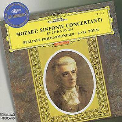 Mozart: Sinfonie Concertanti K297b & 364
