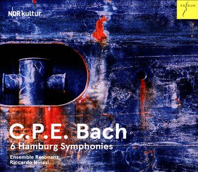 C.P.E. Bach: 6 Hamburg Symphonies
