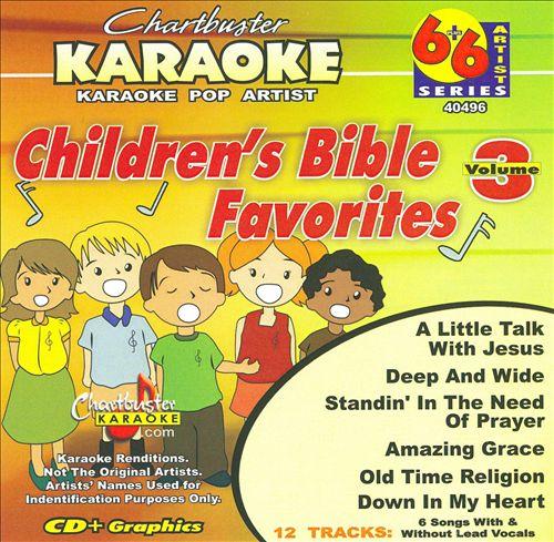 Karaoke: Children's Bible Favorites, Vol. 3