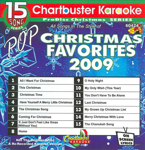 Chartbuster Karaoke: Pop Christmas Favorites 2009