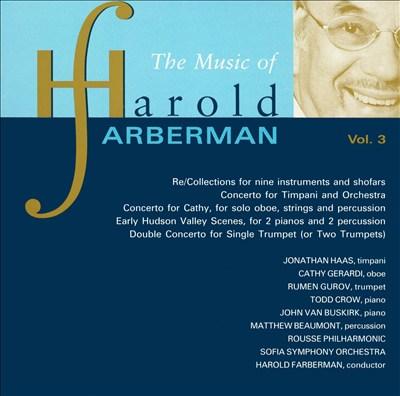 The Music of Harold Farberman, Vol. 3
