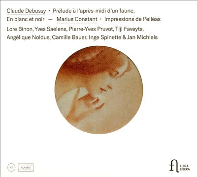 Claude Debussy: Prelude à l'après-midi d'un Faune; En blanc et Noir; Marius Constant: Impressions de