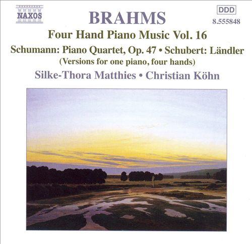 Brahms: Four Hand Piano Music, Vol. 16