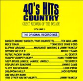 Great Records of the Decade: 40's Hits Country, Vol. 1