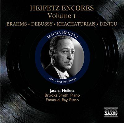 Heifetz Encores, Vol. 1