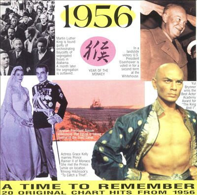 1956: A Time to Remember, 20 Original Chart Hits