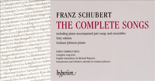 Franz Schubert: The Complete Songs