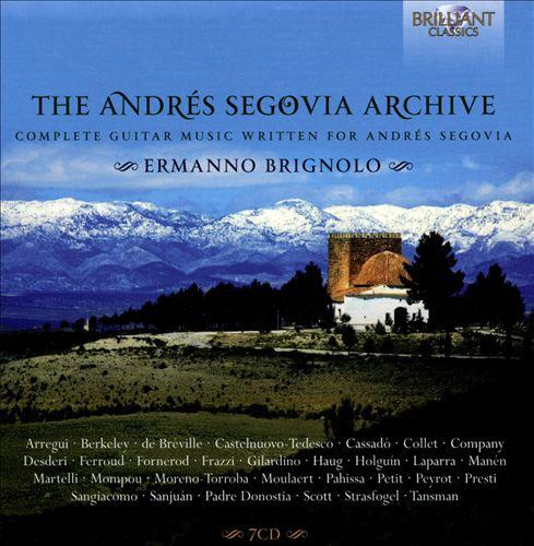 The Andrés Segovia Archive: Complete Guitar Music