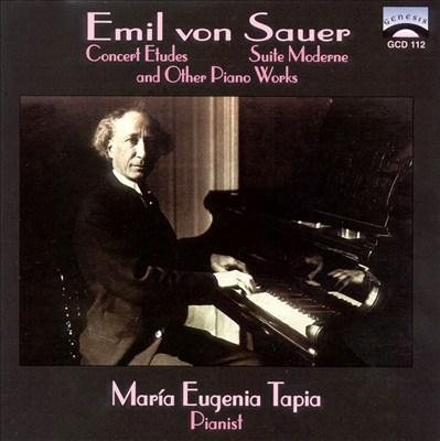 Sauer: Piano Works