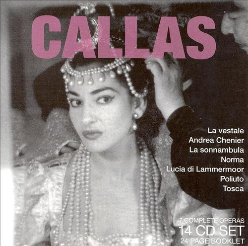 Legendary Performances of Callas [Box Set]