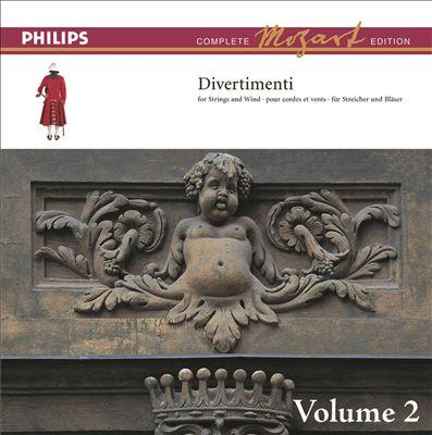 Mozart: The Divertimenti For Orchestra, Vol. 2 [Complete Mozart Edition]