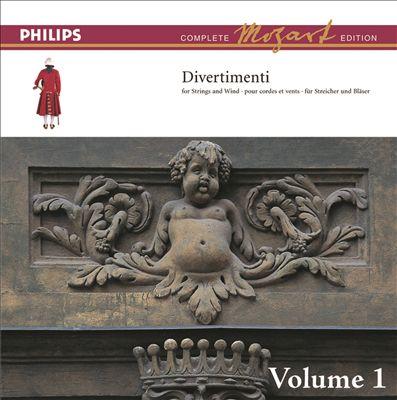 Mozart: The Divertimenti for Orchestra, Vol. 1 [Complete Mozart Edition]