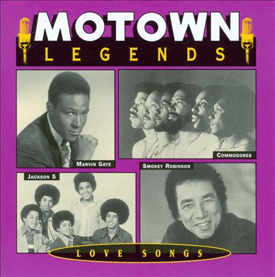 Motown Legends Love Songs